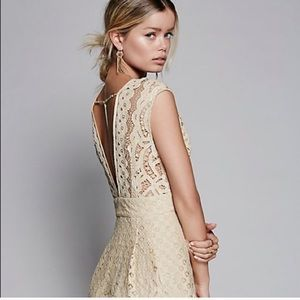 Free People One in A Million Dress Ivory🍾